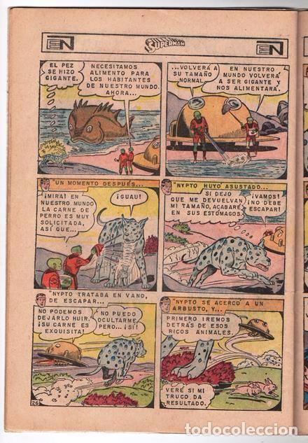 Tebeos: SUPERMAN # 627 NOVARO 1967 LOS JOVENES REBELDES EL ARBOL GENEALOGICO DE KRYPTO BUEN ESTADO - Foto 6 - 93724800