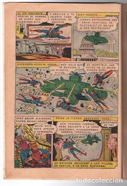 Tebeos: SUPERMAN # 637 NOVARO 1968 SUPERNIÑA EL DOBLE DE SUPERMAN BUEN ESTADO - Foto 3 - 93787895