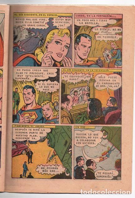 Tebeos: SUPERMAN # 637 NOVARO 1968 SUPERNIÑA EL DOBLE DE SUPERMAN BUEN ESTADO - Foto 5 - 93787895