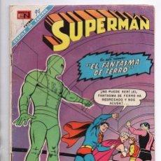 Tebeos: SUPERMAN # 652 NOVARO LEGION DE SUPER-HEROES 1968 EL FANTASMA DE FERRO BRAINIAC 5 COSMICO SATURNA. Lote 93791975