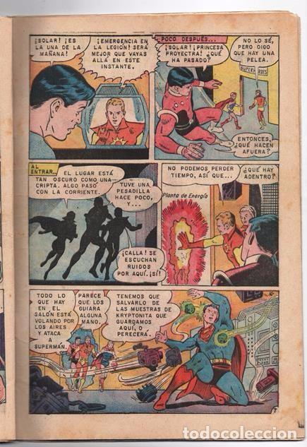 Tebeos: SUPERMAN # 652 NOVARO LEGION DE SUPER-HEROES 1968 EL FANTASMA DE FERRO BRAINIAC 5 COSMICO SATURNA - Foto 3 - 93791975