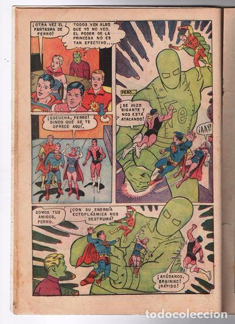 Tebeos: SUPERMAN # 652 NOVARO LEGION DE SUPER-HEROES 1968 EL FANTASMA DE FERRO BRAINIAC 5 COSMICO SATURNA - Foto 4 - 93791975