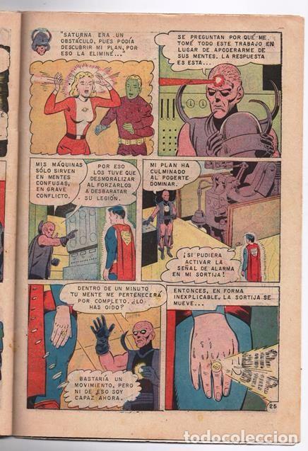 Tebeos: SUPERMAN # 652 NOVARO LEGION DE SUPER-HEROES 1968 EL FANTASMA DE FERRO BRAINIAC 5 COSMICO SATURNA - Foto 5 - 93791975