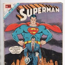 Tebeos: SUPERMAN # 655 NOVARO 1968 CLARK KENT ABANDONA A SUPERMAN BUEN ESTADO. Lote 93798590