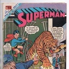 Tebeos: SUPERMAN # 666 NOVARO 1968 EL CASO DEL PRINCIPE RAM SUPERMAN BUSCA MASCOTA BUEN ESTADO. Lote 93809495