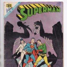 Tebeos: SUPERMAN # 669 LEGION DE SUPER HEROES NOVARO 1968 LOS INMORTALES DOBLE COLOSO BRAINIAC 5 CENTELLA. Lote 93809565