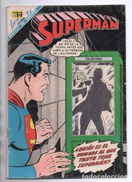 SUPERMAN # 671 NOVARO 1968 EL ANIQUILADOR SUPERNIÑA LA MUERTE DE LEX LUTHOR BUEN ESTADO (Tebeos y Comics - Novaro - Superman)