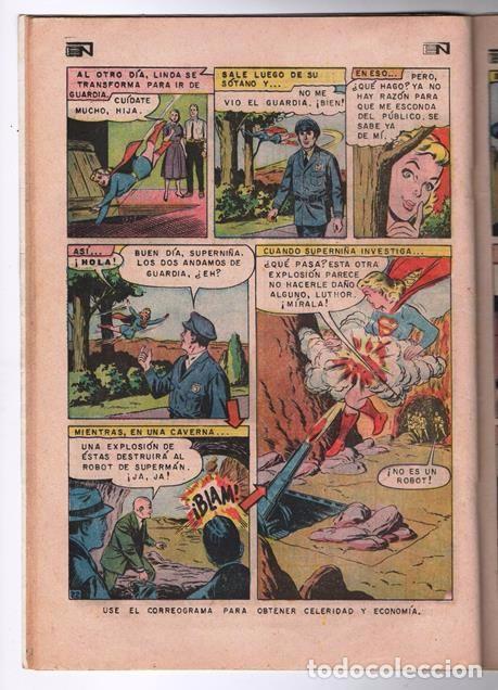 Tebeos: SUPERMAN # 671 NOVARO 1968 EL ANIQUILADOR SUPERNIÑA LA MUERTE DE LEX LUTHOR BUEN ESTADO - Foto 4 - 93809585