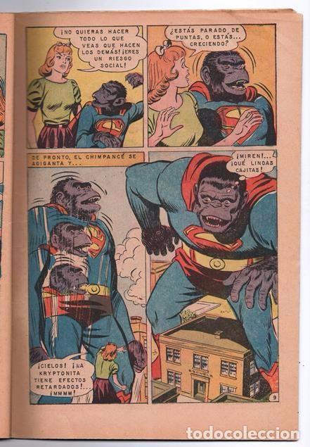 Tebeos: SUPERMAN # 729 NOVARO 1969 SUPERMAN SE VUELVE MONO EL CHICO MAS TIMIDO DE LA CIUDAD BUEN ESTADO - Foto 3 - 93809710