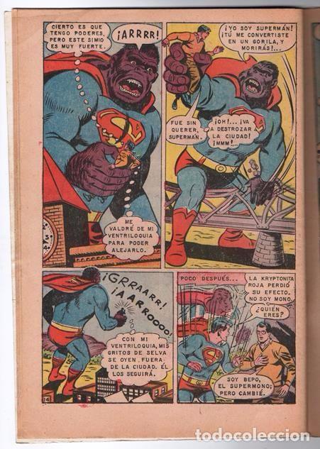 Tebeos: SUPERMAN # 729 NOVARO 1969 SUPERMAN SE VUELVE MONO EL CHICO MAS TIMIDO DE LA CIUDAD BUEN ESTADO - Foto 5 - 93809710