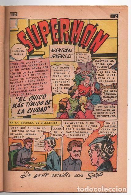 Tebeos: SUPERMAN # 729 NOVARO 1969 SUPERMAN SE VUELVE MONO EL CHICO MAS TIMIDO DE LA CIUDAD BUEN ESTADO - Foto 6 - 93809710