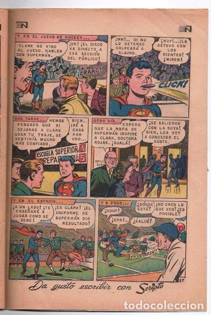 Tebeos: SUPERMAN # 729 NOVARO 1969 SUPERMAN SE VUELVE MONO EL CHICO MAS TIMIDO DE LA CIUDAD BUEN ESTADO - Foto 7 - 93809710