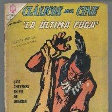 Tebeos: CLÁSICOS DEL CINE 144: LA ÚLTIMA FUGA, 1966, NOVARO, USADO. Lote 93871670
