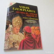 Tebeos: VIDAS EJEMPLARES, Nº. EXTRAORDINARIO, 15 DE ABRIL DE 1966.- HISTORIA DEL CONCILIO VATICANO II. Lote 94047090