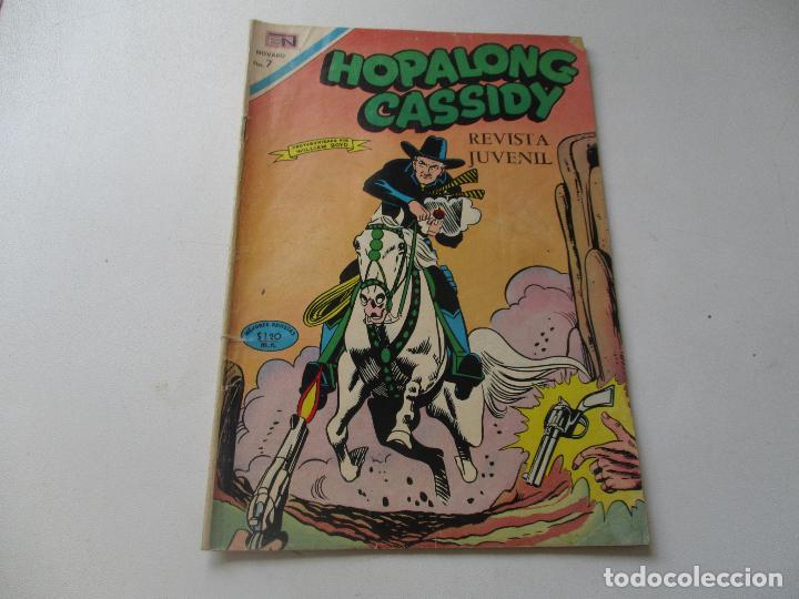 HOPALONG CASSIDY, Nº. 181 - 1 DE ENERO DE 1970.- NOVARO (Tebeos y Comics - Novaro - Hopalong Cassidy)