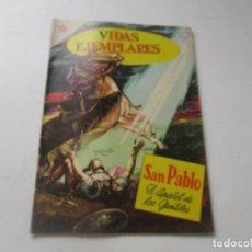 Tebeos: VIDAS EJEMPLARES, Nº. 93-SAN PABLO, EL APÒSTOL DE LOS GENTILES-15 DE ENERO DE 1961-NOVARO. Lote 94053235