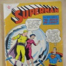 Tebeos: SUPERMAN - NOVARO - Nº 186. Lote 94157525