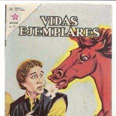 Tebeos: VIDAS EJEMPLARES 158: SAN NICILÁS DE FLUE, 1962, NOVARO, MUY BUEN ESTADO. Lote 94284075