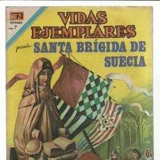 Tebeos: VIDAS EJEMPLARES 353: SANTA BRÍGIDA DE SUECIA, 1973, NOVARO, MUY BUEN ESTADO. Lote 94284090