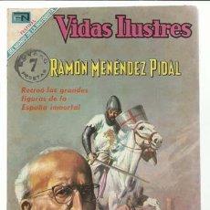 Tebeos: VIDAS ILUSTRES 215: RAMÓN MENÉNDEZ PIDAL, 1969, NOVARO, MUY BUEN ESTADO. Lote 94284115