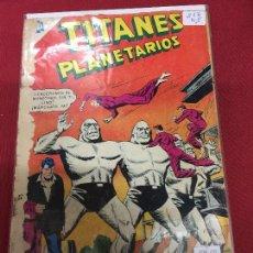 Tebeos: NOVARO TITANES PLANETARIOS NUMERO 213 NORMAL ESTADO REF.19 . Lote 94546883