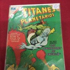 Tebeos: NOVARO TITANES PLANETARIOS NUMERO 253 NORMAL ESTADO REF.19 . Lote 94546991
