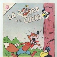 Tebeos: LA ZORRA Y EL CUERVO 169, 1965, NOVARO, MUY BUEN ESTADO. Lote 94820915