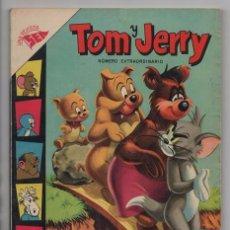 Tebeos: TOM Y JERRY NUMERO EXTRAORDINARIO NOVARO 1957 BALON Y BALIN BARNEY MOTITA FLIP Y DIP EXCELENTE 96 P. Lote 94916607