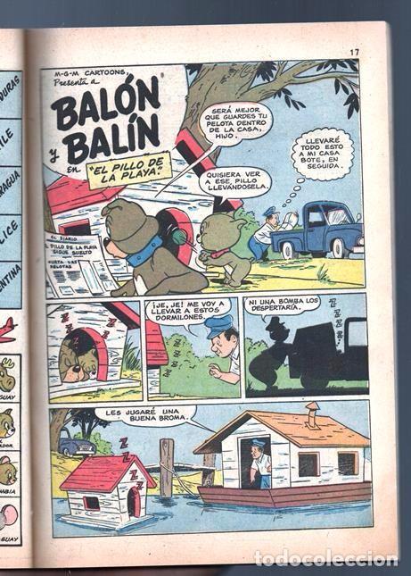 Tebeos: TOM Y JERRY NUMERO EXTRAORDINARIO NOVARO 1957 BALON Y BALIN BARNEY MOTITA FLIP Y DIP EXCELENTE 96 P - Foto 3 - 94916607