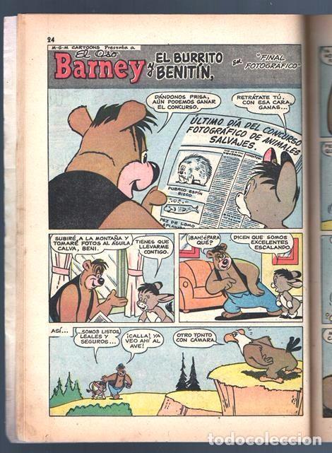 Tebeos: TOM Y JERRY NUMERO EXTRAORDINARIO NOVARO 1957 BALON Y BALIN BARNEY MOTITA FLIP Y DIP EXCELENTE 96 P - Foto 4 - 94916607