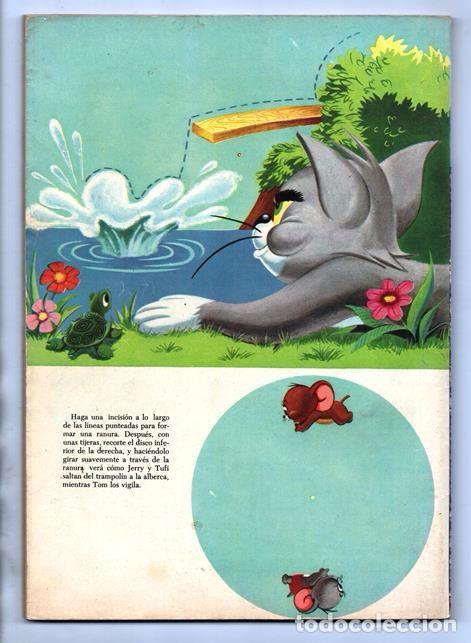Tebeos: TOM Y JERRY NUMERO EXTRAORDINARIO NOVARO 1957 BALON Y BALIN BARNEY MOTITA FLIP Y DIP EXCELENTE 96 P - Foto 14 - 94916607
