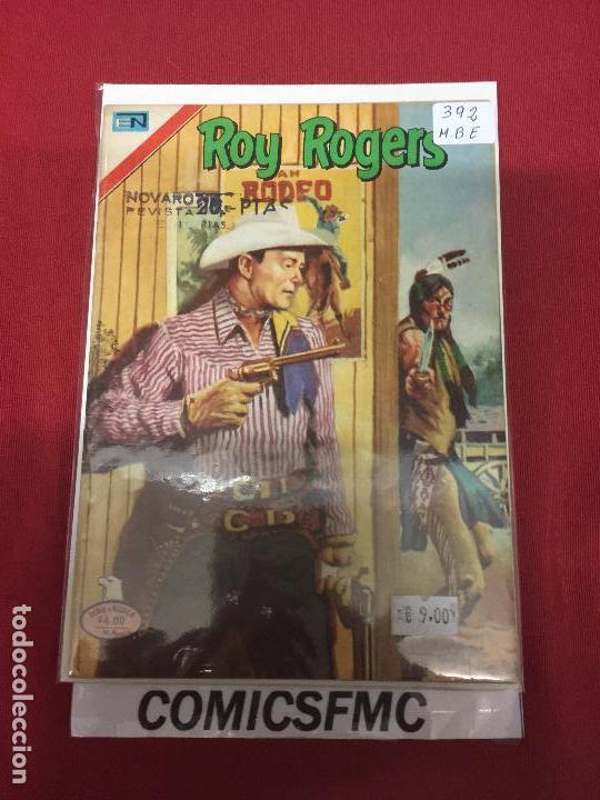 NOVARO ROY ROGERS SERIE AGUILA NUMERO 392 BUEN ESTADO REF.CN (Tebeos y Comics - Novaro - Roy Roger)