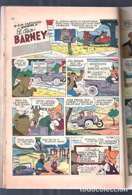 Tebeos: TOM Y JERRY NUMERO EXTRAORDINARIO NOVARO 1955 BALON Y BALIN BARNEY MOTITA FLIP Y DIP EXCELENTE 96 P - Foto 5 - 94959911