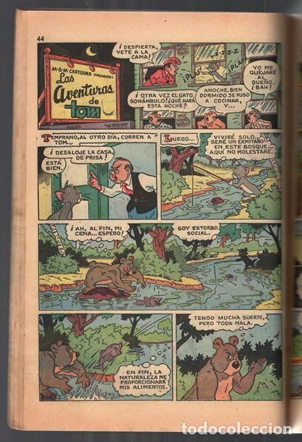 Tebeos: TOM Y JERRY NUMERO EXTRAORDINARIO NOVARO 1955 BALON Y BALIN BARNEY MOTITA FLIP Y DIP EXCELENTE 96 P - Foto 9 - 94959911