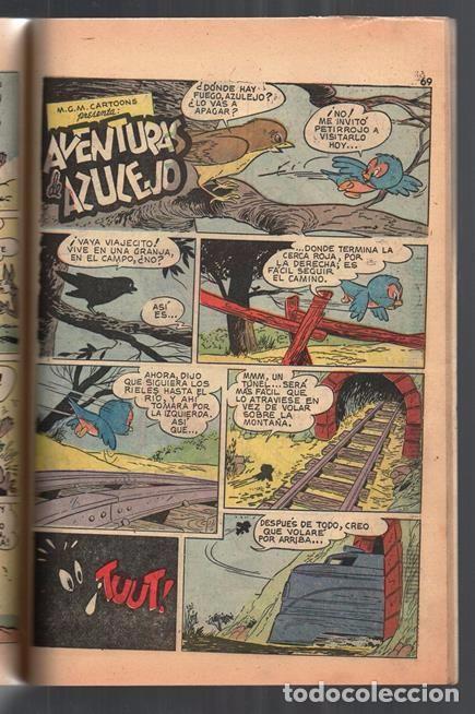 Tebeos: TOM Y JERRY NUMERO EXTRAORDINARIO NOVARO 1955 BALON Y BALIN BARNEY MOTITA FLIP Y DIP EXCELENTE 96 P - Foto 11 - 94959911