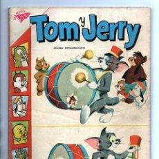 Tebeos: TOM Y JERRY NUMERO EXTRAORDINARIO NOVARO 1960 BALON Y BALIN BARNEY MOTITA FLIP MUY BUEN ESTADO 80 P. Lote 94962107