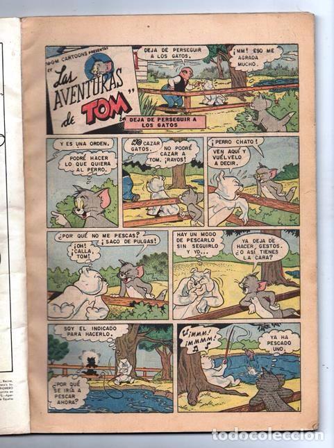 Tebeos: TOM Y JERRY NUMERO EXTRAORDINARIO NOVARO 1960 BALON Y BALIN BARNEY MOTITA FLIP MUY BUEN ESTADO 80 P - Foto 2 - 94962107