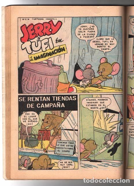 Tebeos: TOM Y JERRY NUMERO EXTRAORDINARIO NOVARO 1960 BALON Y BALIN BARNEY MOTITA FLIP MUY BUEN ESTADO 80 P - Foto 10 - 94962107