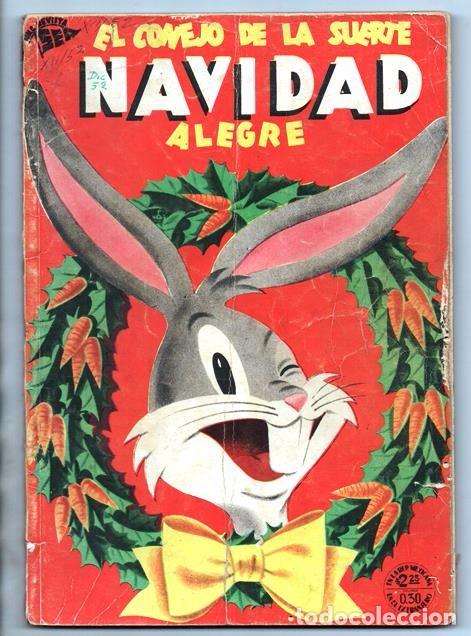 c5a6bdff7060 12 fotos EL CONEJO DE LA SUERTE EXTRAORDINARIO NOVARO 1952 PORKY ELMER  LUCAS TRES OSOS 112 PAG CON ...
