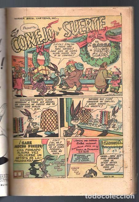 20cafc5c4e6b Tebeos: EL CONEJO DE LA SUERTE EXTRAORDINARIO NOVARO 1952 PORKY ELMER LUCAS  TRES OSOS 112
