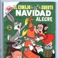 Tebeos: EL CONEJO DE LA SUERTE EXTRAORDINARIO NOVARO 1954 NAVIDAD LUCAS PIOLIN PORKY MARY JUANA 96 P EXCELEN. Lote 95025059