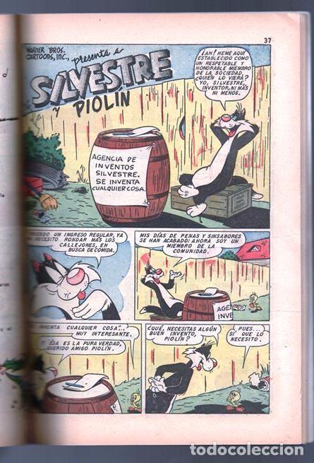 Tebeos: EL CONEJO DE LA SUERTE EXTRAORDINARIO NOVARO 1954 NAVIDAD LUCAS PIOLIN PORKY MARY JUANA 96 P EXCELEN - Foto 7 - 95025059