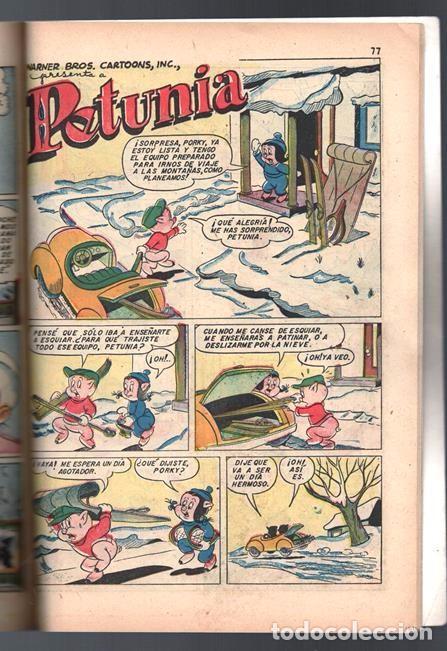 Tebeos: EL CONEJO DE LA SUERTE EXTRAORDINARIO NOVARO 1954 NAVIDAD LUCAS PIOLIN PORKY MARY JUANA 96 P EXCELEN - Foto 12 - 95025059