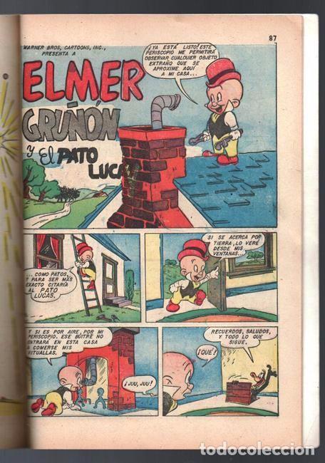Tebeos: EL CONEJO DE LA SUERTE EXTRAORDINARIO NOVARO 1954 NAVIDAD LUCAS PIOLIN PORKY MARY JUANA 96 P EXCELEN - Foto 13 - 95025059