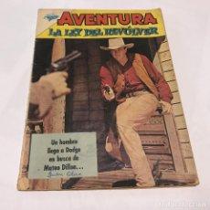 Tebeos: AVENTURA . LA LEY DEL REVOLVER . N º 209. AÑO 1962. Lote 95106467