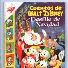 Tebeos: CUENTOS DE WALT DISNEY EXTRAORDINARIO NOVARO 1957 PEPE GRILLO TAMBOR LOBO FEROZ MICKEY DONALD 96 P . Lote 95127867