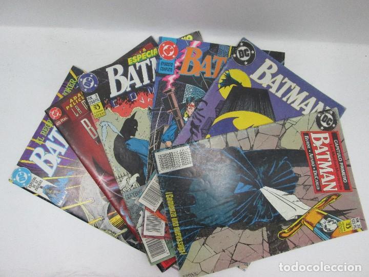 LOTE DE 6 CÓMICS DE BATMAN DE LOS 90 (Tebeos y Comics - Novaro - Batman)