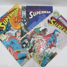 Tebeos: LOTE DE 3 CÓMICS DE SUPERMAN DC COMICS. Lote 95334223
