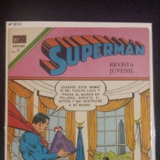 Tebeos: SUPERMAN 830 NOVARO. Lote 95703500