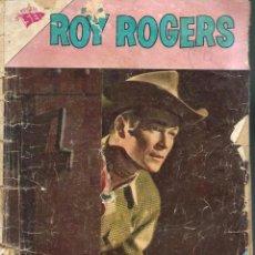 Tebeos: ROY ROGERS Nº 128 - EL SECRETO DEL RIO DEL TRUENO - ABRIL 1963 - UNA REVISTA SEA - NOVARO - SOBADO. Lote 95763251